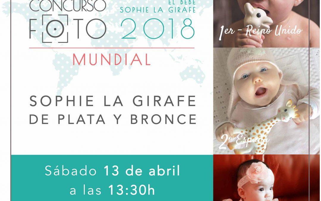 Entrega de premio CONCURSO FOTOGRÁFICO INTERNACIONAL EL BEBÉ SOPHIE LA GIRAFE 2018 en Feria Bebé Barcelona