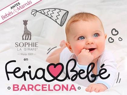 Sophie la girafe en Feria Bebé Barcelona